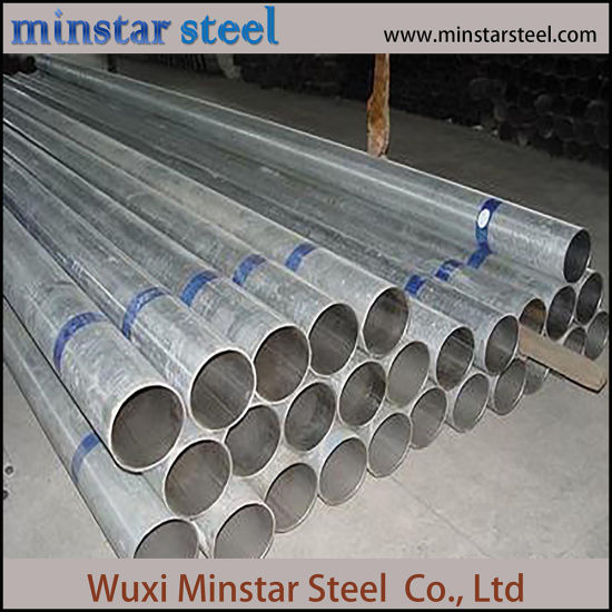 Hot DIP Galvanized Low Carbon Steel Tube