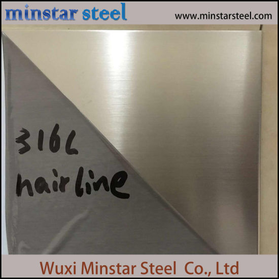 Hot Rolled SUS 321 Mill Finish Stainless Steel Sheet for Chemical Tank