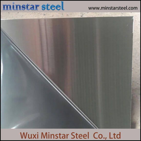Cold Rolled 316 316L Thickness 3.0mm Stainless Steel Sheet Hairline Surface