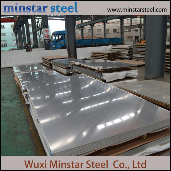 4′x8′ Standard Size 201 stainless steel plate 0.5mm 2B surface