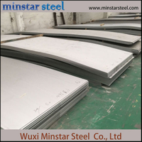 Hot Rolled AISI 304 1D Finish Stainless Steel Plate 11mm 12mm 13mm Thickness