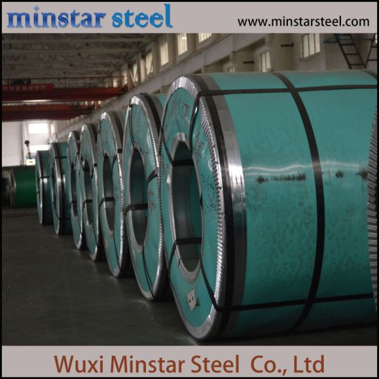 Cold Rolled 2B BA 430 304 Stainless Steel Coil 0.3mm To 3.0mm Thick