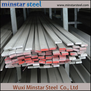SUS 304 316 Hot Rolled White Surface Stainless Steel Flat Bar