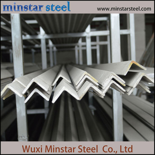 Good Quality Hot Rolled 201 304 316 Stainless Steel Angle Bar Made in China