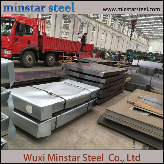 S235jr Hot Rolled Mild Steel Plate