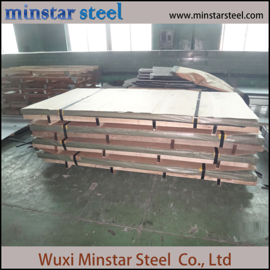304 316L Hairline HL Brushed Austenitic Stainless Steel Sheet for Elevator