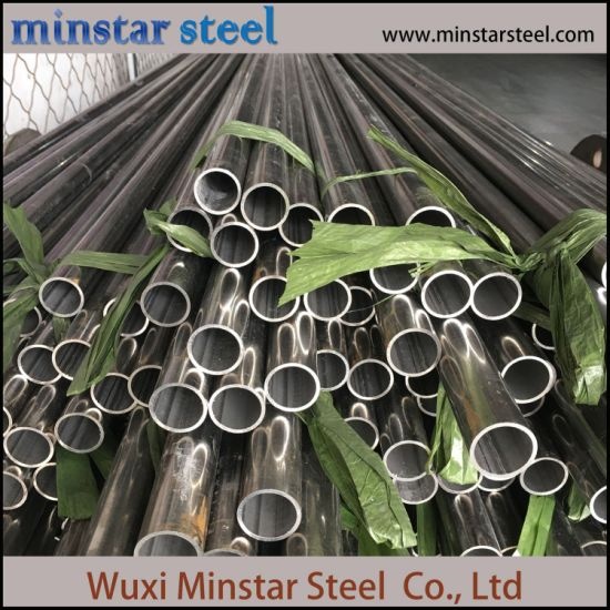 Welded Pipe 316L Stainless Steel Round Welded Pipe Stainless Steel Round Tube with High Quality