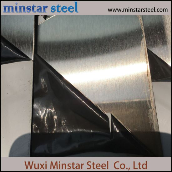 Hairline Finish HL Surface Stainless Steel Sheet 304 for Elevator