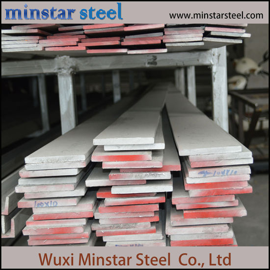 Hot Rolled White Surface Stainless Steel Flat Bar 304 304L