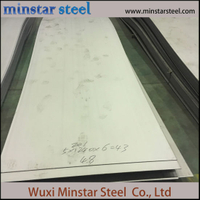 201 Grade Hot Rolled Stainless Steel Sheet 20mm Thick